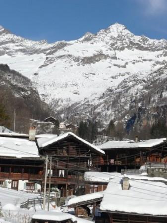 Sciare ad Alagna Valsesia